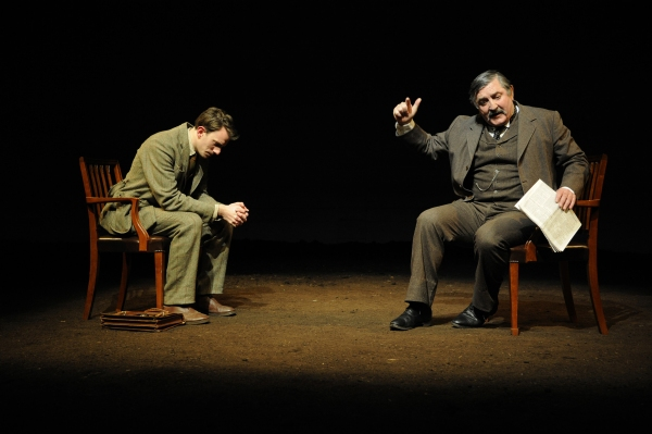 Photo Flash: First Look at Nick Dear's THE DARK EARTH AND THE LIGHT SKY at The Almeida