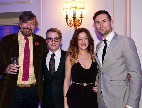 Stephen Fry, Stevie Webb, Julie Atherton, Tom Parsons