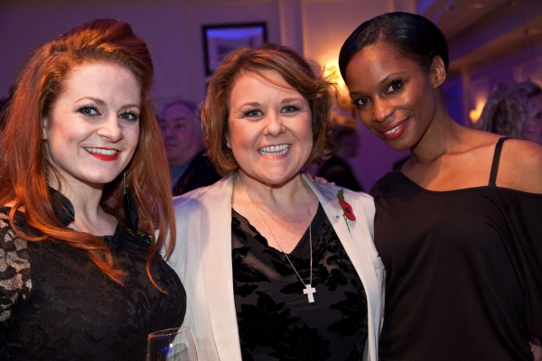 Our House cast members  Lauren Appleby, Wendi Peters, Carryl Thomas