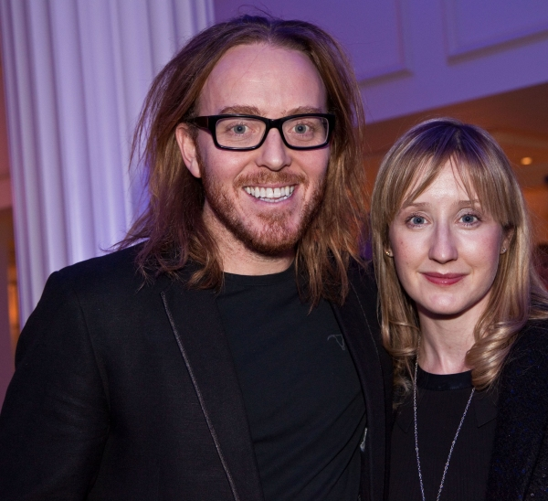 Tim Minchin and Lauren Ward at OUR HOUSE 10th Anniversary Concert After Party!
