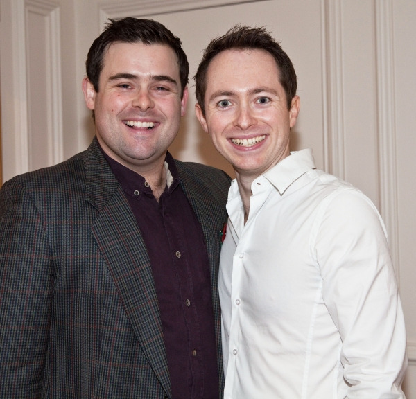 Our House cast members  David Fynn and Chris Carswell
