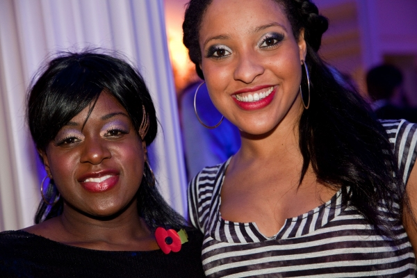 Our House cast members  Tameka Empson and Jenny Fitzpatrick