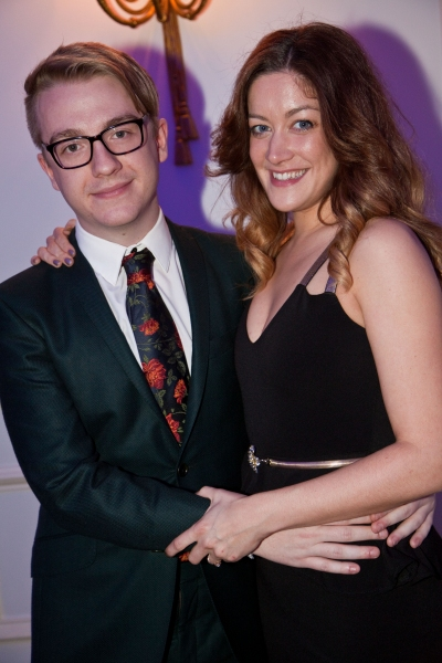 Stevie Webb and Julie Atherton