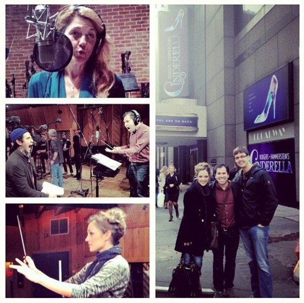 Twitter Watch: Laura Osnes- 'Goofing around in the recording studio'