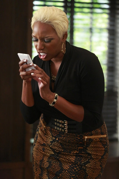 NeNe Leakes at THE NEW NORMAL's 'Unplugged' Episode, Airs 11/13