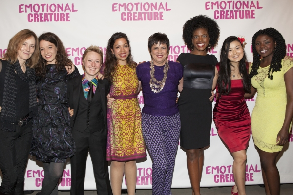 Jo Bonney, Molly Carden, Emily Grosland, Sade Namei, Eve Ensler, Ashley Bryant, Olivia Oguma and Joaquina Kalukango