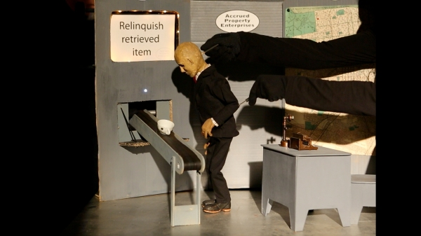 Photo Flash: First Look at Animal Cracker Conspiracy Puppet Co.'s THE COLLECTOR
