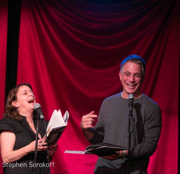 Photo Coverage: Tony Danza, Tovah Feldshuh Visit CELEBRITY AUTOBIOGRAPHY
