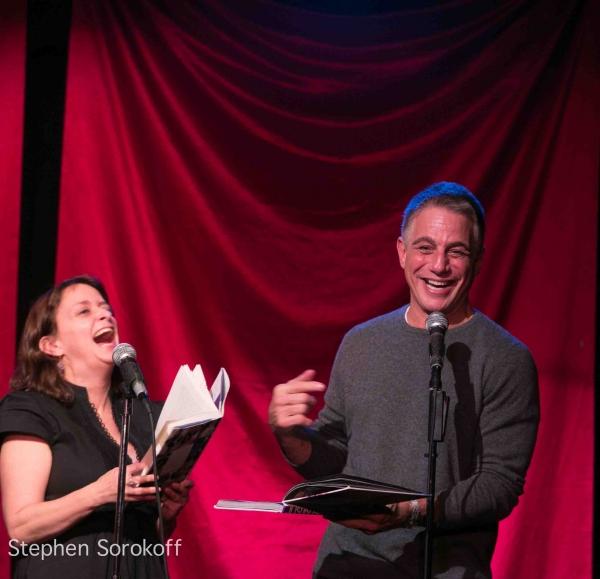 Rachel Dratch & Tony Danza at Tony Danza, Tovah Feldshuh Visit CELEBRITY AUTOBIOGRAPHY