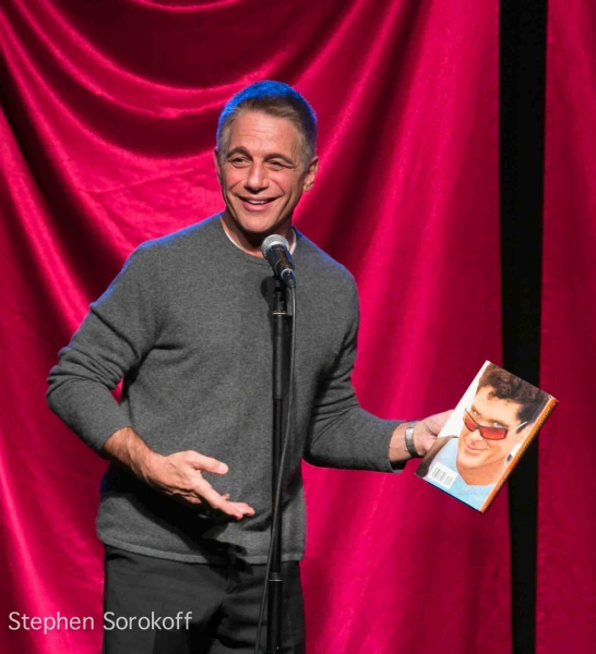 Tony Danza at Tony Danza, Tovah Feldshuh Visit CELEBRITY AUTOBIOGRAPHY