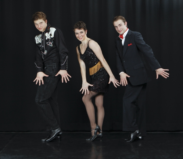 Colby Dezelick, Colleen Roberts, and Kevin Corkum Photo