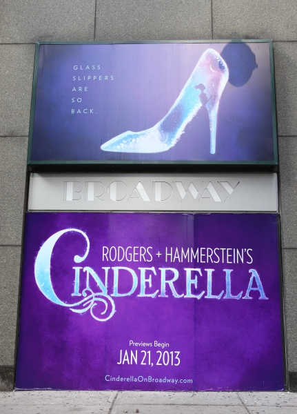 Up On The Marquee: CINDERELLA