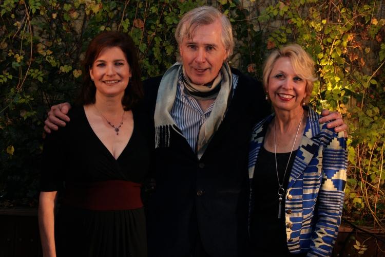 High Res Roma Torre, John Patrick Shanley and Julie Halston