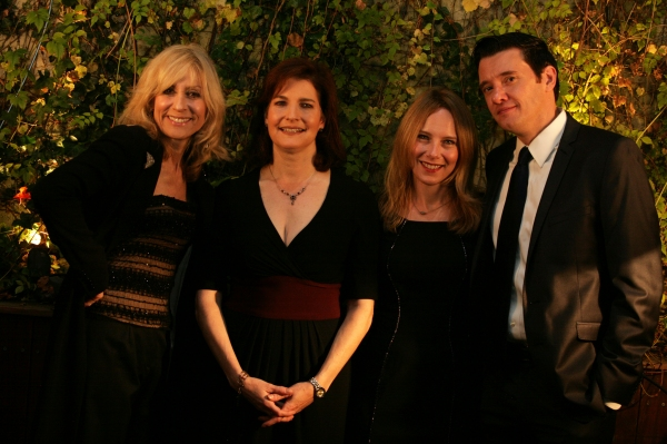 Judith Light, Roma Torre, Amy Ryan and Justin Butler Harner