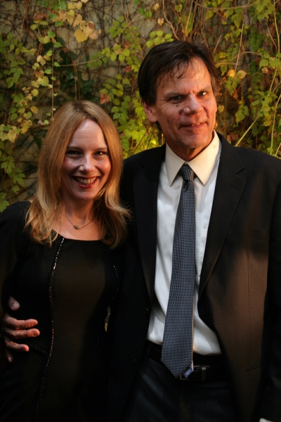 Amy Ryan and Peter Jensen