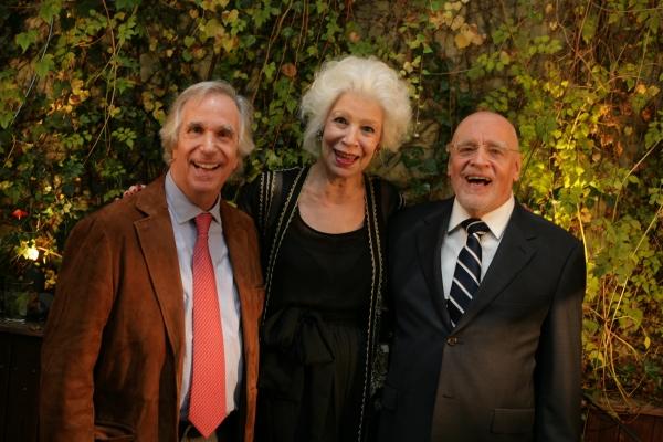 Henry Winkler, Jano Herbosch & Terry Schreiber