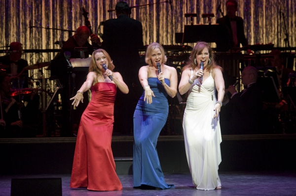 Sarah Uriarte Berry, Rebecca Luker, Debbie Gravitte at Kelli O'Hara, Raul Esparza and More at 2012 Encores! Gala