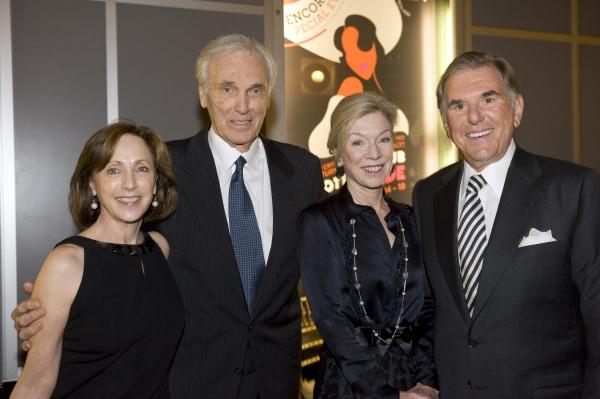 Arlene Shuler, City Center Board President Raymond Lamontagne, Gala Honorees Stephanie Shuman, Fred Shuman