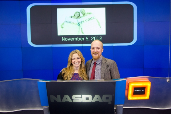 Photo Flash: HOW TO BE A NEW YORKER Rings NASDAQ Closing Bell