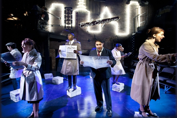 Photo Flash: First Look at Arcola Theatre's SWEET SMELL OF SUCCESS UK Premiere
