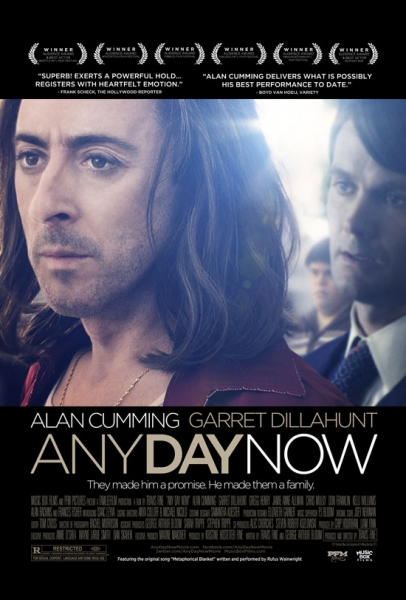 Photo Flash: Poster Revealed for ANY DAY NOW, Starring Alan Cumming