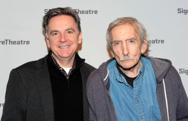 James Houghton, Edward Albee at Inside Opening Night of GOLDEN CHILD