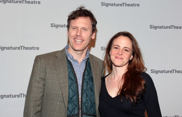Will Eno, Maria Dizzia at Inside Opening Night of GOLDEN CHILD
