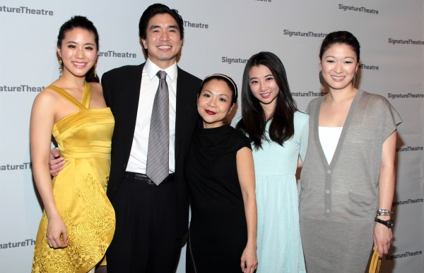 Lesley Hu, Greg Watanabe, Julyana Soelistyo, Annie Q, Jennifer Lim at Inside Opening Night of GOLDEN CHILD