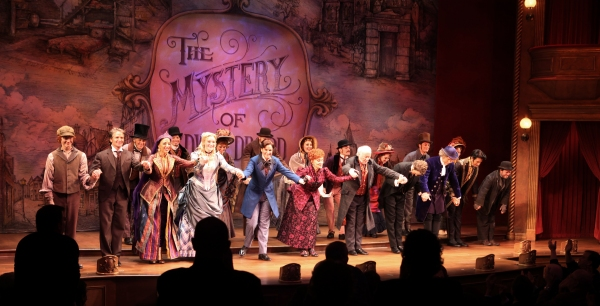 Nicholas Barasch, Peter Benson, Jessie Mueller, Betsy Wolfe, Stephanie J. Block, Chita Rivera, Jim Norton, Will Chase, Gregg Edelman, Andy Karl, Robert Creighton & Company at FREEZE FRAME: THE MYSTERY OF EDWIN DROOD Opening Night Curtain Call