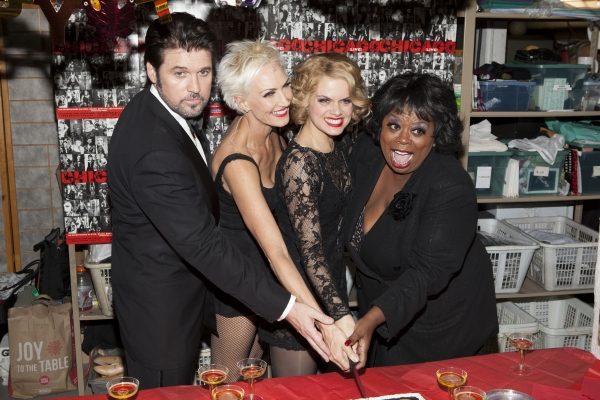 Billy Ray Cyrus, Amra-Faye Wright, Amy Spanger and Carol Woods