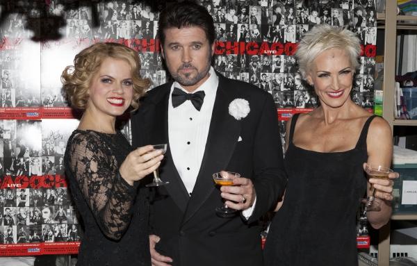 Amy Spanger, Billy Ray Cyrus and Amra-Faye Wright