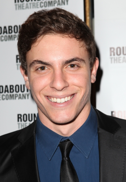 Derek Klena  at THE MYSTERY OF EDWIN DROOD's Opening Night Theatre Arrivals!