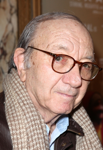 Neil Simon at THE MYSTERY OF EDWIN DROOD's Opening Night Theatre Arrivals!
