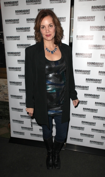 Margaret Colin  at THE MYSTERY OF EDWIN DROOD's Opening Night Theatre Arrivals!
