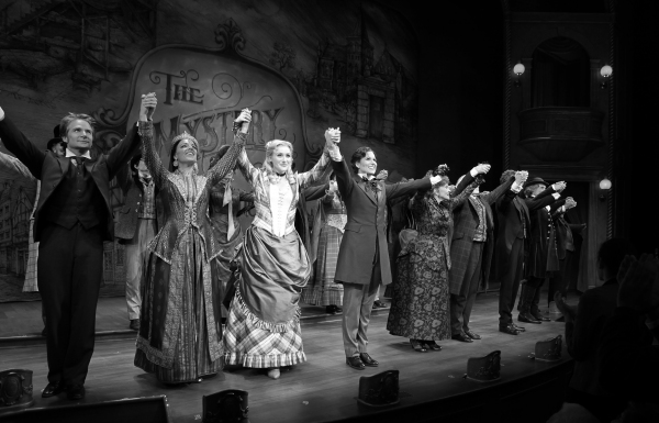 Complete Photo Coverage: THE MYSTERY OF EDWIN DROOD Opening Night Curtain Call