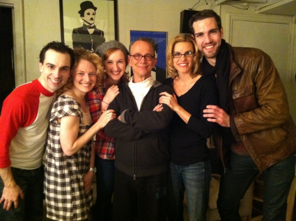 Photo Flash: Joel Grey Visits CHAPLIN!