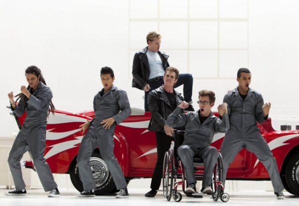 Photo Flash: First Look at GLEE's  'Glease' Episode!