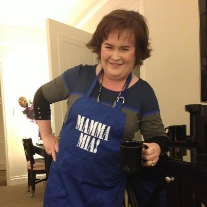 Susan Boyle at Susan Boyle Channels MAMMA MIA!