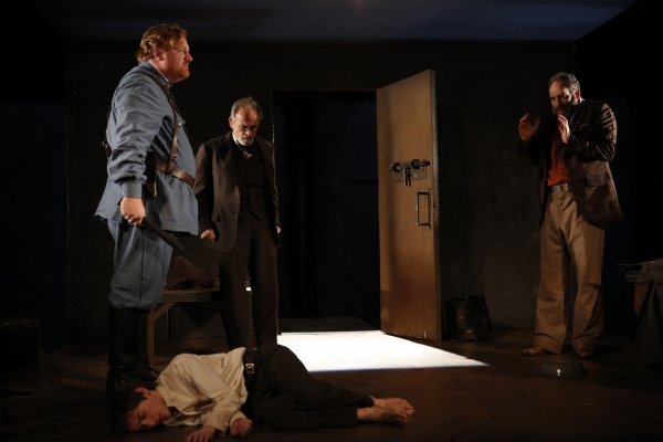 Happy Anderson, Noah Robbins, Ron Rifkin, and Daniel Oreskes in The Twenty-Seventh Ma Photo