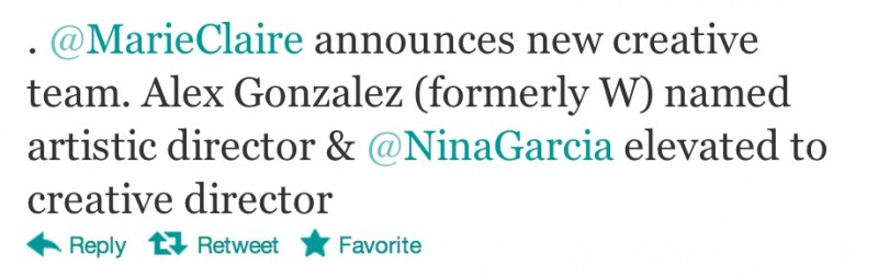 Nina Garcia Promoted to Creative Director