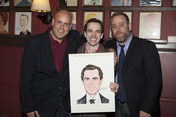 Pete Kaiser, Rob McClure and Jed Abrahams