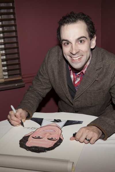 Photo Coverage: CHAPLIN's Rob McClure Receives a Portrait at Sardi's