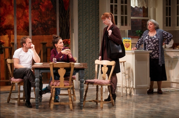 Norbert Leo Butz as 'Jack', Katie Holmes as 'Lorna', Judy Greer as 'Jenny' and Jane Houdyshell as 'Barbara'