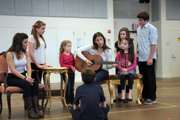 Photo Coverage: Paper Mill Playhouse's THE SOUND OF MUSIC Meets the Press
