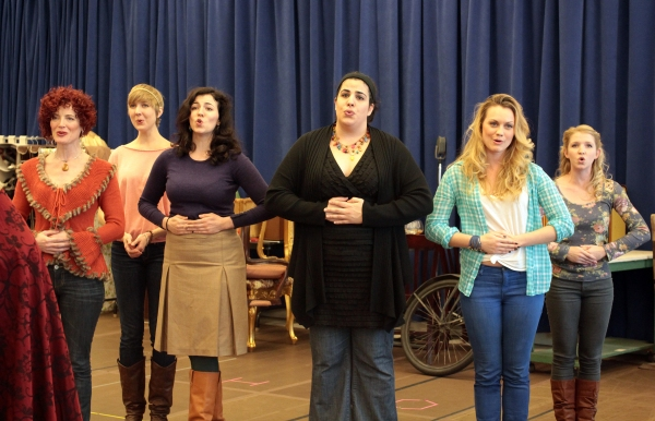 Norah Long, Kera Halbersleben, Christine Cornell, Nadine Zahr, Ashley Kate Adams, Jenavene Hester