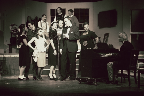 Photo Flash: First Look at Lake Worth Playhouse's THE 1940s RADIO HOUR, 11/15-12/2