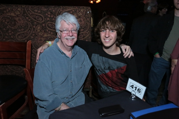 Ben Babylon (right) with record producer and engineer Ken Scott (The Beatles, Elton John, David Bowie)