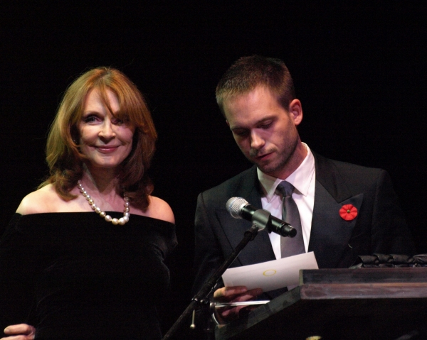 Gates McFadden and Patrick J. Adams
