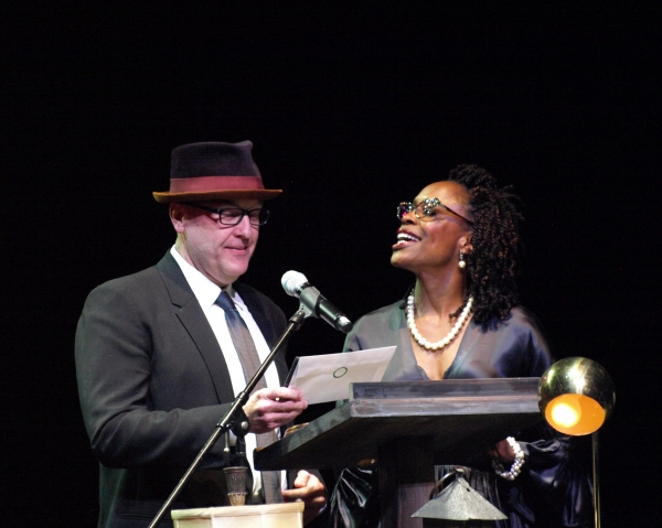 Mark Roberts and Charlayne Woodward