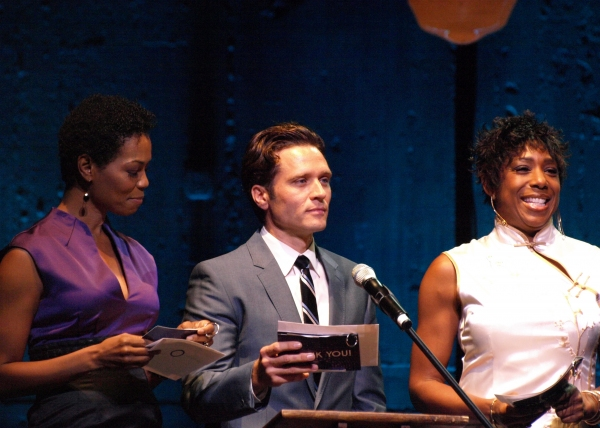 Dawnn Lewis, Vanessa Williams and Seamus Dever at Inside the 2012 OVATION AWARDS!